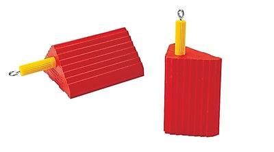 Checkers® Monster® Roadblock 6 lbs. Small Wheel Chock, Orange