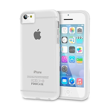 rOOCASE Fuse Shell Case Cover For iPhone 5C, White