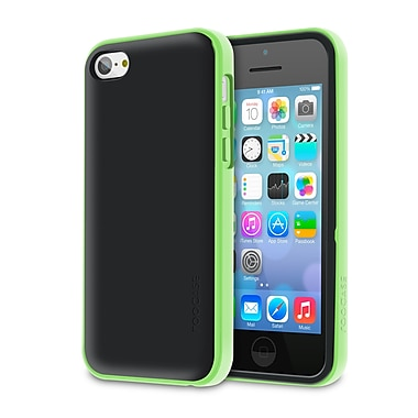 rOOCASE Hype Hybrid Dual Layer Case Cover For iPhone 5S, Green