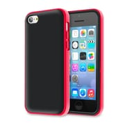 rOOCASE Hype Hybrid Dual Layer Case Cover For iPhone 5S, Red