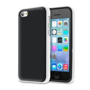 rOOCASE Hype Hybrid Dual Layer Case Cover For iPhone 5S, White