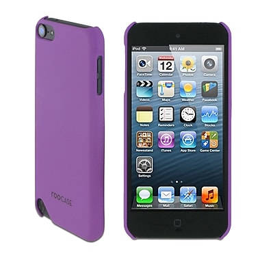 rooCASE TOUCH5-S1-R-PR Ultra-Slim Matte Shell Case Cover for Apple iPod Touch 5th Gen, Purple