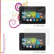 "rOOCASE Anti-Glare HD Screen Protector For 7"" Amazon Kindle Fire HD, Clear"