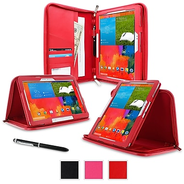 rOOCASE Executive Portfolio Case For Samsung Galaxy Note Pro/Tab Pro 12.2, Red