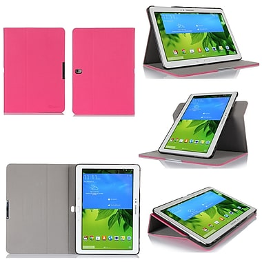 GearIT Spinner Folio Case Cover For Samsung Galaxy Tab Pro 10.1, Magenta