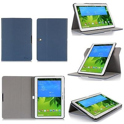 GearIT Spinner Folio Case Cover For Samsung Galaxy Tab Pro 10.1, Dark Blue