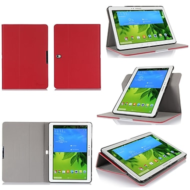 GearIT Spinner Folio Case Cover For Samsung Galaxy Tab Pro 10.1, Red