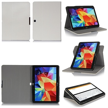 GearIT Spinner G10TAB4360SPNCW Twill Fabric Folio Case for 10.1