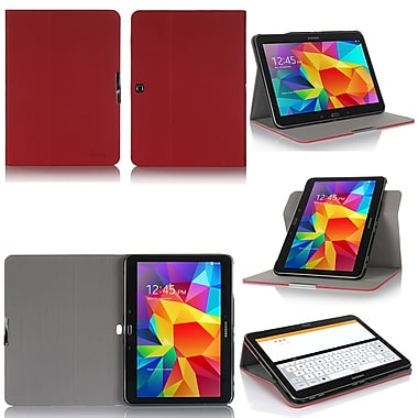 GearIT Spinner G10TAB4360SPNRD Twill Fabric Folio Case for 10.1