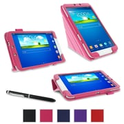 "rOOCASE Origami Case Cover For 8"" Samsung Galaxy Tab 3, Magenta"
