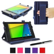 rOOCASE Slim-Fit Case Cover For Google Nexus 7 FHD, Navy