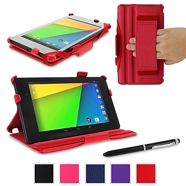 rOOCASE Slim-Fit Case Cover For Google Nexus 7 FHD, Red
