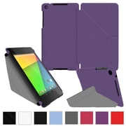 rOOCASE Origami Slim Shell Case Cover For Google Nexus 7 FHD, Purple