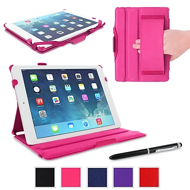 rOOCASE Slim-Fit Folio Case Cover For iPad Air 5th Generation, Magenta