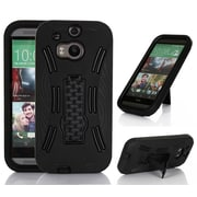 GearIT HTC One M8 High Impact Hybrid Armor Case Cover