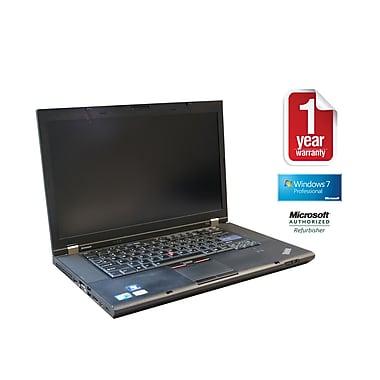 Refurb LENOVO T510 CORE I5-2.4GHz Processor, 4GB memory, 500GB Hard drive, DVDRW, 15.6 Screen, Windows 10 Pro 64bit with Webcam