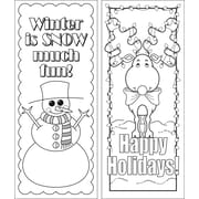 Barker Creek Celebrate Winter Bookmark Set