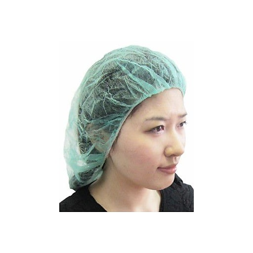 c8c238add96 ... Polypropylene Green Bouffant Cap. https   www.staples-3p.com s7 is