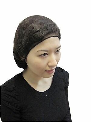 Keystone 109HPI-18-BN Latex Free Nylon Brown Hair Net, 18