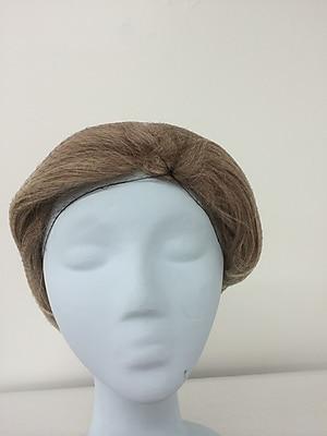 Keystone 109I-REG-LTBRN Latex Free Nylon Light Brown Hair Net, 22