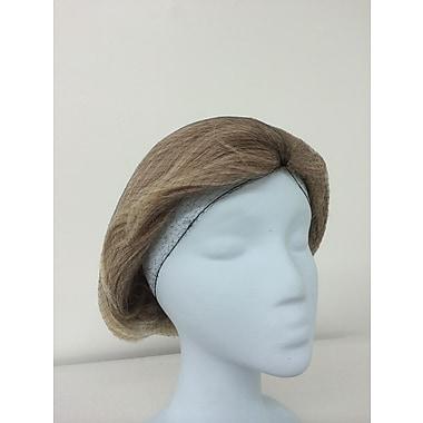 Keystone 109I-LRG-LTBRN Latex Free Nylon Light Brown Hair Net, 28