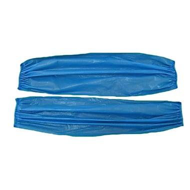 Keystone AG-PVC6-BL-1BG Vinyl PVC Disposable Sleeves, Blue
