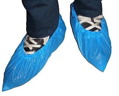 Keystone SC-CPE-XL-BL Polyethylene Shoe Covers, Blue