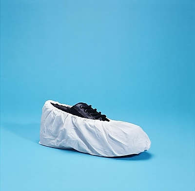 Keystone SC-CPE-HD-XL Polyethylene Shoe Covers, White
