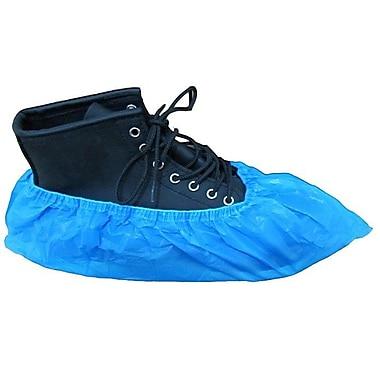 Keystone SC-CPE-HD-LG-BL-1BAG Polyethylene Shoe Covers, Blue