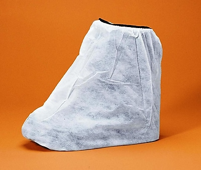Keystone BC-NWI White Polypropylene Boot Covers, Large