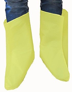 Keystone BC-EY-LARGE Yellow Vinyl Boot Covers, Large