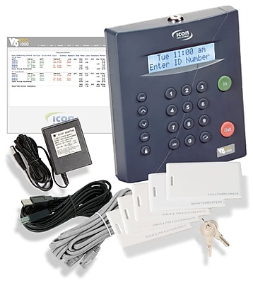 Icon Time Systems RTC-1000 Universal Automated Time Clock