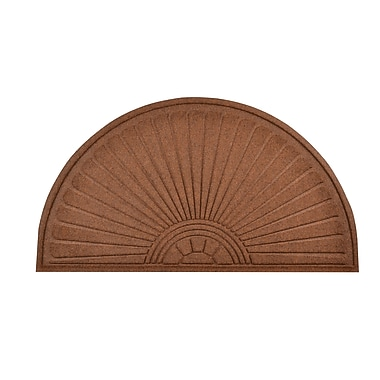 HomeTrax Designs 169F0024 Guzzler Sunburst Door Mat
