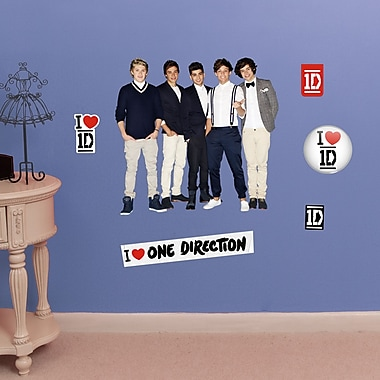 Fathead Jr. One Direction Collection Wall Decal