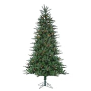 Sterling Inc 7.5' Natural Cut Franklin Spruce Christmas Tree w/ 500 Multi Lights w/ Stand