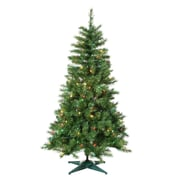 Sterling Inc 4' Green Colorado Spruce Christmas Tree w/ 150 Multi Lights w/ Stand