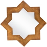 """Surya MRR1013-3333 75"""" x 35"""" Frame made from MDF Mirror, aged gold"""
