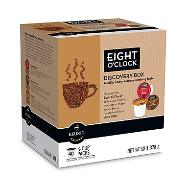 8 O'Clock Discovery Box Coffee, 40/Pack