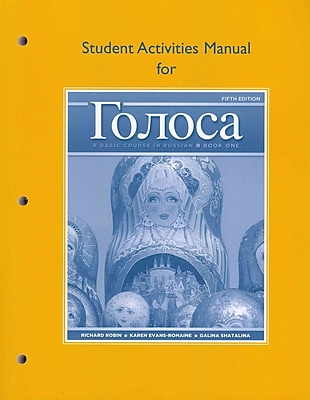 Golosa, Book One: A Basic Course in Russian