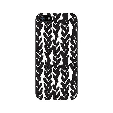 Centon OTM™ Glossy Collection Case For iPhone 5, Black/White Hearts