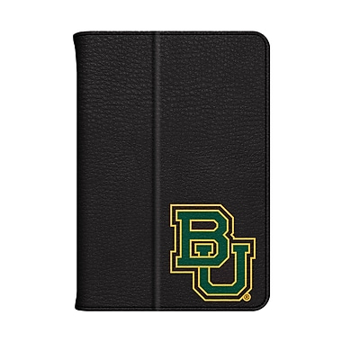 Centon Leather Folio Black Carrying Case For iPad Mini, Baylor University