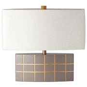 Ziqi Home Wood Wonder 21.5'' Table Lamp; Beige