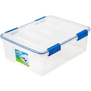 Ziploc® 26.5 Quart WeatherShield Storage Box, 4 Pack (394040)