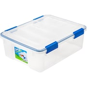 Ziploc® 26.5 Quart WeatherShield Storage Box, 4 Pack (394040)