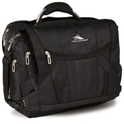 "High Sierra Nylon BT TSA Messenger Bag, 20"" x 13.5"", Black"