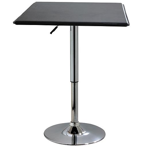 Buffalo amerihome vinyl adjustable height square bar table black httpsstaples 3ps7is images for buffalo amerihome vinyl adjustable height square bar table black watchthetrailerfo
