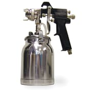 "Buffalo PSG1Q 1 qt. Industrial Paint Stencil Work Air Spray Gun, 1/4"" NPT Air Inlet"