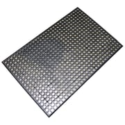 Buffalo Industrial Rubber Floor Mat, 2' x 3', Black