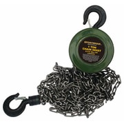 "Buffalo Tools Sportsman™ Chain Hoist, 6""H x 5""W x 96""D, 1 Ton"