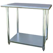 "Buffalo Sportsman™ 36"" Stainless Steel Work Table, Silver"
